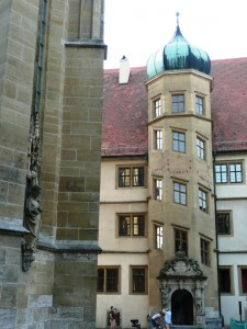 Interesting tower, Rothenburg