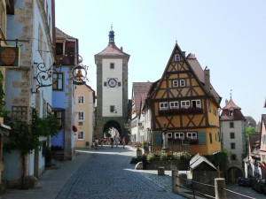 Plönlein, Rothenburg