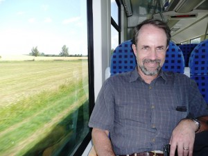 On the train to Würzburg