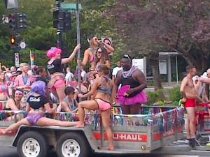 Pride parade, Embassy Row DC