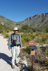 McKittrick Canyon trailhead, Guadalupe Mtns NP