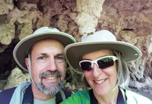 At the Grotto, McKittrick Canyon, Guadalupe Mtns