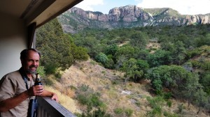 View from the Chisos Mountain Lodge