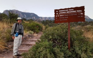 Headed up the Pinnacles Trail, Big Bend