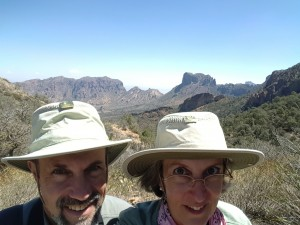 On the trail, Big Bend