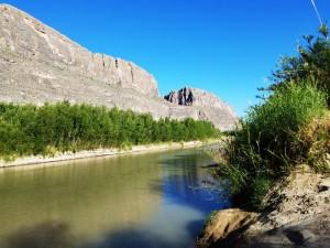 Rio Grande in Santa Elena Canyon, Big Bend NP