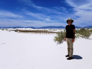 Liza at White Sands
