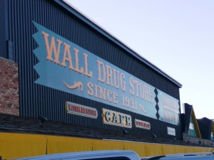 Wall Drug in Wall SD