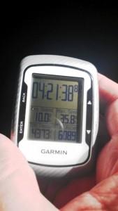 Robert's big day!  6089 ft of cilmbing!