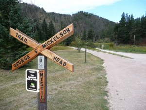 On the Mickelson Trail