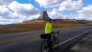 Liza at Devil's Tower