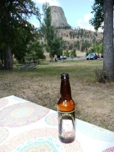 Devil's Tower beer!