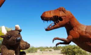 Arggh! T-Rex! Gila Bend, AZ