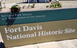 Fort Davis Natl Historic Site, TX - another home of Buffalo Soldiers