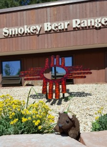 Smokey Bear (*the* smokey bear) Ranger Station, Ruidoso, NM