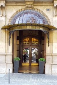 Hotel Granvia, L'Eixample district