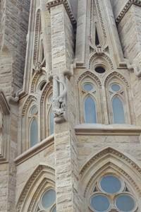 Sagrada Família (big lizard!)