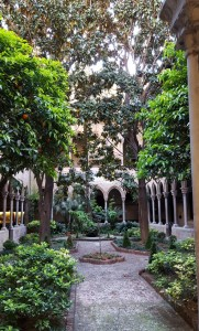 Cloister of the Church of the Holy Conception