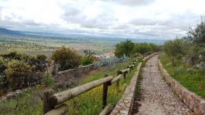 Near Castillo Alcazaba