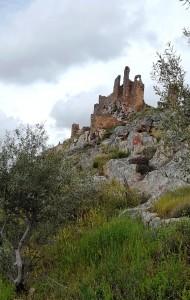 Castillo Alcazaba ruins