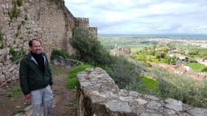 Below the walls of Trujillo castle