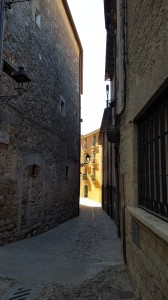 Walking through Girona