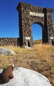 Roosevelt Arch, Gardiner MT, Yellowstone NP