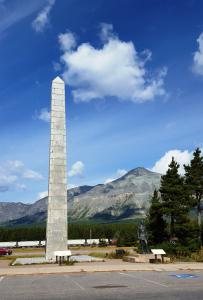 Summit, Glacier NP, Memorial to Theodore Roosevelt