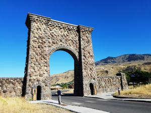 Roosevelt Arch, Yellowstone NP