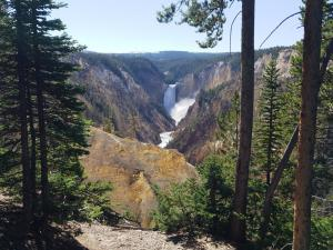Grand Canyon of the Yellowstone upper falls