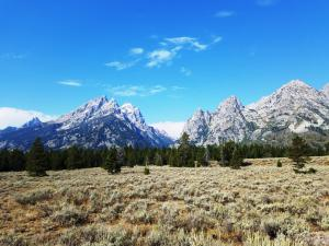 Looking towards Cascade Canyon, Grand Teton NP