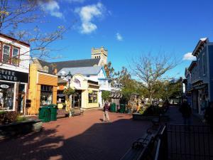 Cape May pedestrian area