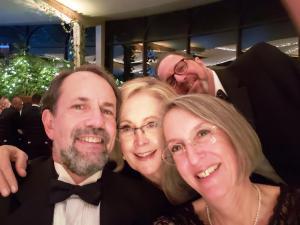 Robert, Linda and Rob Wanerman, and Liza