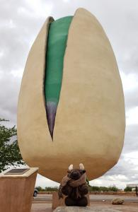 Had to go see the world's largest pistachio!