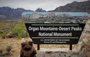 New park! Organ Mountains Desert Peaks National Monument