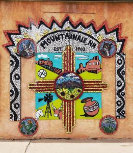 Mountainair sign