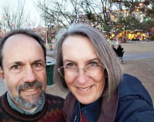 In the Santa Fe plaza