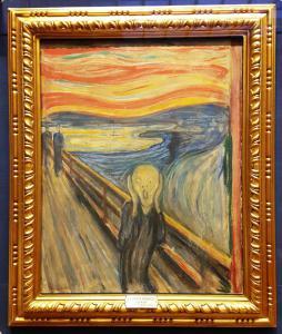 """The Scream"", Edvard Munch"
