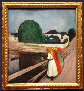 """The Girls on the Bridge"", Edvard Munch"