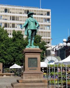 Christian IV statue in the Stortorvet
