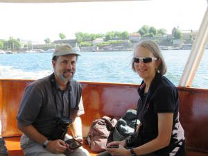 On the ferry to the Bygd�y peninsula, Oslo