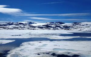 Hardangerj�kulen glacier