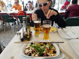 Lunch at Restaurante Beira-Gare