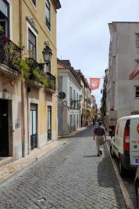 Walking through the Bairro Alto