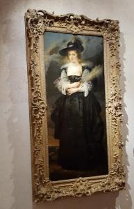 Gulbenkian Museum -  Hélène Fourment by Rubens