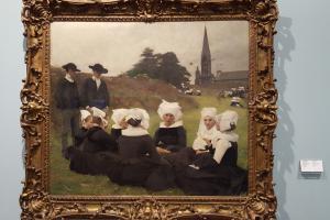 Gulbenkian Museum - Les Bretonnes au pardon, Pascal Dagnan-Bouveret