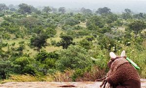 View from Mathekenyane Granokop
