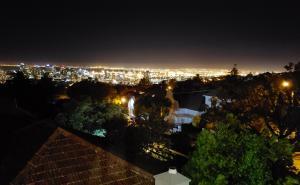 Night view from Villa Zeezicht