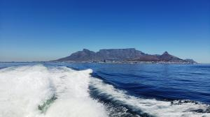 Boat ride to Robben Island