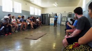 Tour given by former prisoner